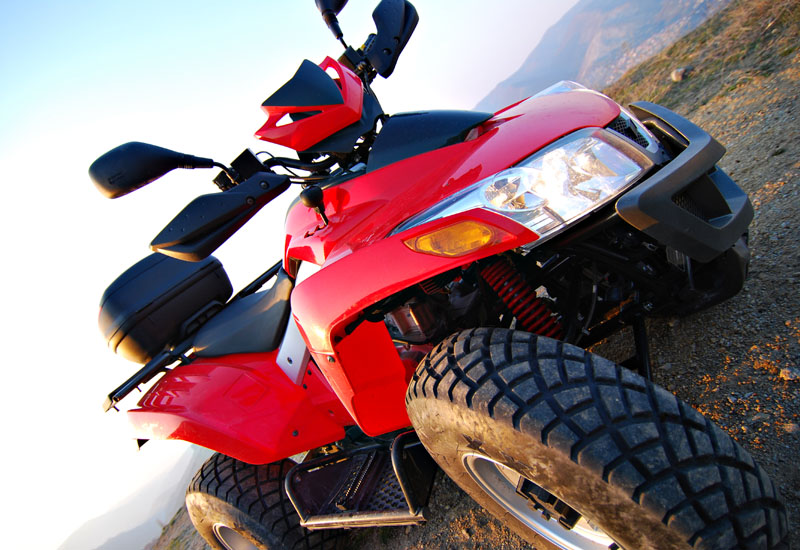 Universal UK now cover and provide an Excellent MOT Service for Quad Bikes For Only £40 - Image of a Quad Bike